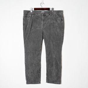 Ann Taylor LOFT Boyfriend Cropped Pants